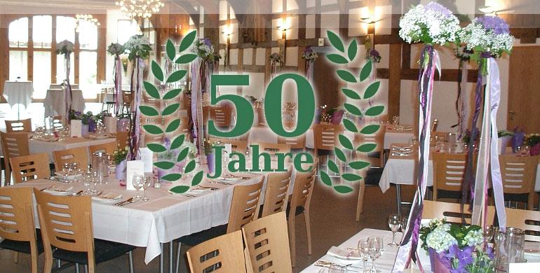 Feiern Sie Ihr 50jähriges Jubiläum